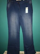 Next Denim Wide Flare Jeans Size 14R