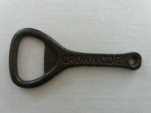 Vintage Crown Cork Cast Iron Bottle Opener