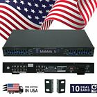 New EMB EQB75 19'' Rack Mount Dual 10 Band 4 Input Stereo Spectrum Equalizer