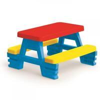 Dolu Kids Toddlers Indoor Outdoor Nursery Garden Picnic Table Bench 2 Years +