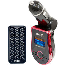 Pyle PMP3R2 Mobile SD/USB/MP3 Compatible Player w/ Built-In FM Transmitter