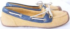 KEEN Catalina Mustard Casual Tie Driving Moccasin Loafer Flats Women's US 7
