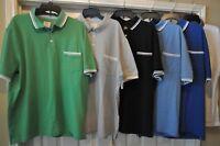Merona Polo Men's Polo Shirt w/ Pocket (Big/Tall/Regular) Multi Colors / Sizes