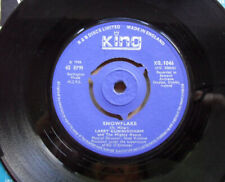 "LARRY CUNNINGHAM SNOWFLAKES ARE DANCING 7"" 1966 WITH THE WILS RAPPAREE UK"