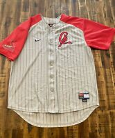 Nike Mens MLB St. Louis Cardinals  Genuine Merchandise Grey/Red Team Jersey Sz L