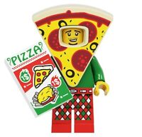 Pizza Food Suit Delivery Man Guy Custom Mini Figure Collectable Series minifig