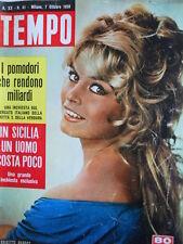 TEMPO n°41 1958 Brigitte Bardot - Johnny Stompanato  [C91]