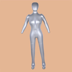Inflatable Mannequin Unisex Head Ivory 1 Pack