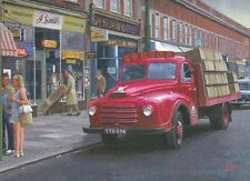 Morris Corona Drinks Classic Lorry Truck Blank  Birthday Fathers Day Card