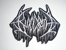 BLOODBATH BRUTAL DEATH IRON ON EMBROIDERED PATCH