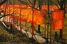 Christo the gates offset  76,5 x 50 cm hand signed lot 2