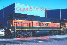 Original slide- BNSF GP60B #337 In RARE Uncoupled View