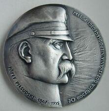 POLISH POLAND WWI 1918 MARSHAL PILSUDSKI LEGION 70 anniversary INDEPENDENCE