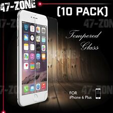 "For Apple iPhone 6 6S Plus 5.5"" Clear Tempered Glass Screen Protector 10 PC"