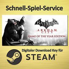 ⭐️ Batman Arkham City - GOTY Game of the Year Edition - PC / MAC - STEAM Key ⭐️