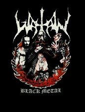 WATAIN cd lgo Fire Group Photo LAY DOWN YOUR SOULS Official SHIRT MED new