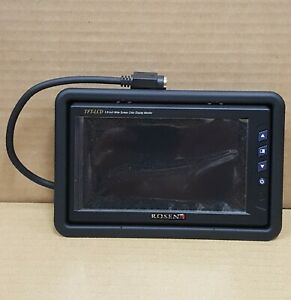 """Rosen UN5800 5.8"""" Widescreen Monitor with Headrest Housing NEW IN PACKAGE"""