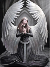 ANNE STOKES ANGEL PRAYER FOR THE FALLEN - 3D PICTURE 300mm x 400mm