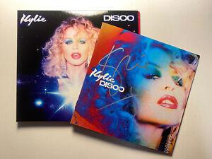 Kylie Minogue Signed Disco CD Album