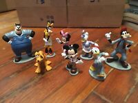 Disney SZF000045 Mickey Mouse Cake Toppers Lot of 8 Donald Duck Goofy Daisy Duck