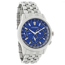 New Citizen Men's Calendrier Blue Dial Eco-Drive Watch BU2021-51L