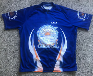 Mens XXL 2XL Louis Garneau Southwest Cycle Maine Harbor Bicycling Cycling Jersey
