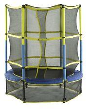 "Upper Bounce 55"" Kid-Friendly Trampoline, Enclosure Set & Easy Assemble Feature"