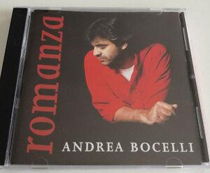 ANDREA BOCELLI - ROMANZA CD ALBUM 1996 OTTIMO RACCOLTA SPED GRATIS SU + ACQUISTI