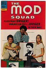 The Mod Squad #7 FN/VF 1971 Dell Comics Michael Cole Peggy Lipton photo cover