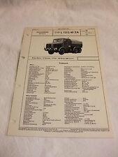 Werbung Reklame VDA-Typenblatt Oldtimer Datenblatt LKW FAUN L 1212/45 ZA 1967