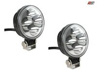 "Set 3.2"" 12w Round Led Work Driving Spot Lights Waterproof Lamps For Truck Car"