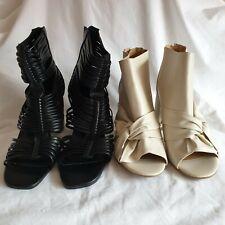 Zip Strappy Solid Heels for Women for sale | eBay