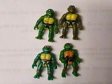 1994 Playmates TEENAGE MUTANT NINJA TURTLES TMNT Mini mutants set of turtles