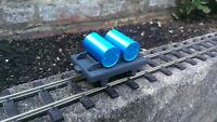Industrial Barrel Wagon Kit 16mm SM32 Narrowgauge Garden Railway