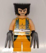 LEGO X-men Wolverine Minifigure Real Genuine Authentic Marvel Super Heroes 6866