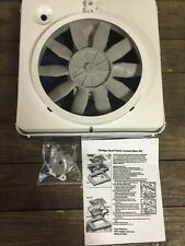 NEW RV VORTEX 1 SINGLE SPEED ROOF VENT UP GRADE FAN 12 VOLT