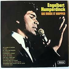 ENGELBERT HUMPERDINCK-WE MADE IT HAPPEN 33 VINYL LP LONDON