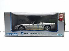 WELLY 1999 CHEVROLET CORVETTE WELLY DIE CAST CAR 1:18 SCALE