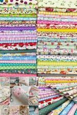 200 Lot Quilting Fabric Colors Cotton Sewing Supplies Patchwork Fat Pcs Lint Diy