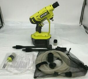 RYOBI RY120350 ONE+ 18-Volt 320 PSI Cold Water Cordless Power Cleaner GR