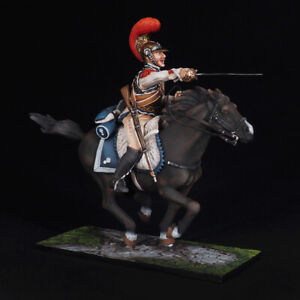 Tin soldier, Sergeant-Major of the Carabiniers France, Napoleonic Wars, 54 mm