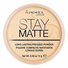Rimmel Stay Matte Pressed Powder, 001 Transparent, 14g