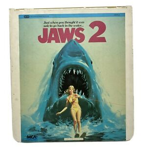 Capacitance Electronic Disc System CED Movie - Jaws 2 -