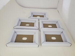 FIVE NEW Assembled Full Size Cardboard inserts for Super Nintendo SNES #X4