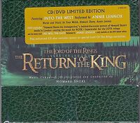 SEALED! Lord of the Rings Return of the King CD/DVD Limited Edition Soundtrack
