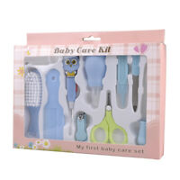 Baby Kids Nail Clippers Safety Cutter Care Toddler Infant Scissors Manicure Set
