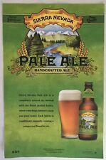 Sierra Nevada Beer Pale Ale Micro Craft Beer - Promo Poster 11x17