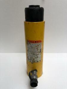 "ENERPAC RC 308 HYDRAULIC CYLINDER 30 TONS CAPACITY 8"" STROKE 700 BAR/10,000 PSI"