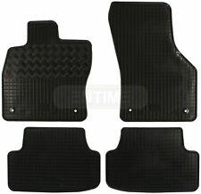 Tappetino VW t5 guidatore 2x singola seduti Premium velluto nero bordo a scelta