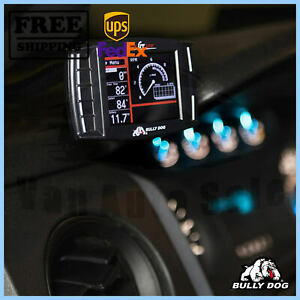 GT diesel tuner and monitor BullyDog for Infiniti FX37 2013